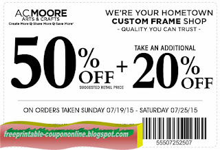 Free Printable AC Moore Coupons