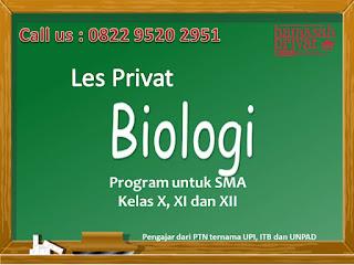 les privat biologi bandung