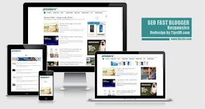 SEO Fast Blogger Template Responsive - Redesign by TipsIM.com
