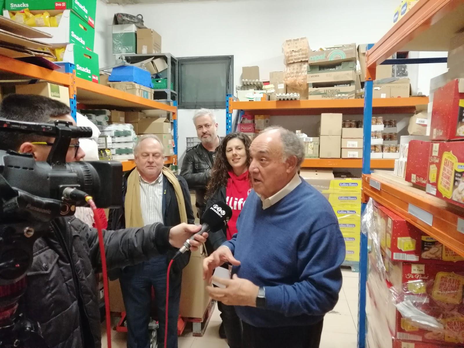 Baròmetre Solidari Gallina Blanca 2019 destinat al Rebost Solidari de Vilafranca