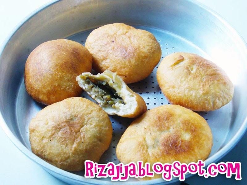 Untuk Untuk Roti Goreng Isi Kacang Hijau Khas Banjarmasin Rizajija
