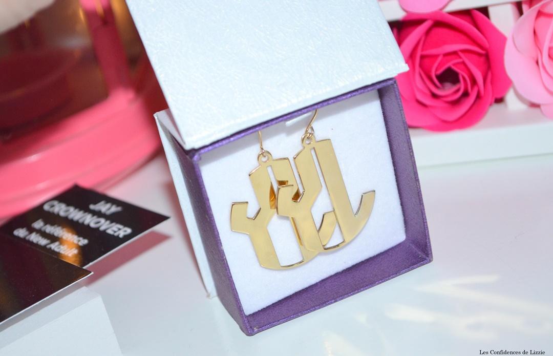 bijoux - bijoux personnalises - plaque or rose - plaque or - argent sterlling