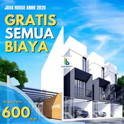 Rumah mewah MURAH 600 Jutaan dekat Plaza Millenium Kapten Muslim Medan - Java House Anno 2020