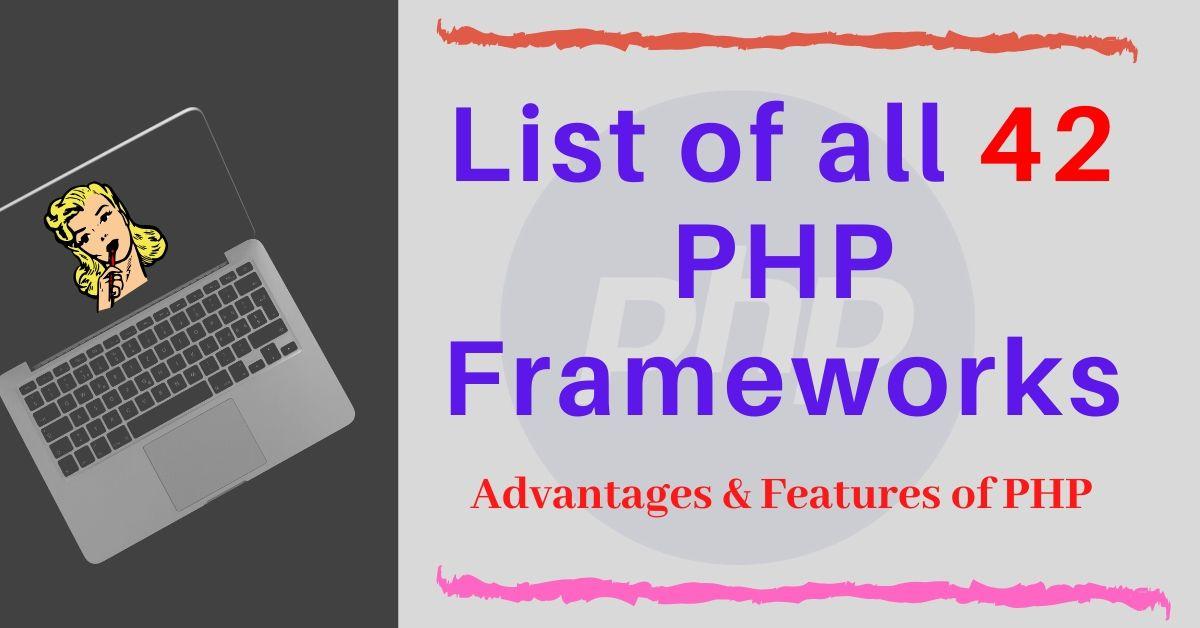 List of PHP Framework