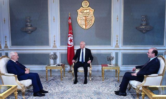 Tunisie: Kaïs Saïed exhorte Rached Ghannouchi et Elyès Fakhfekh