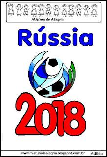 Logotipo copa mundial 2018 Rússia