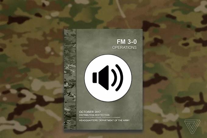 Ο Αμερικανικός Στρατός δημοσίευσε τα πρώτα ηχητικά εγχειρίδια εκστρατείας.