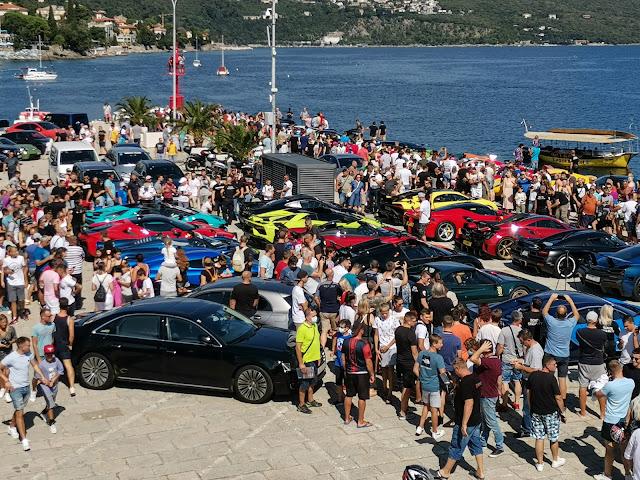 Supercar Owner Circlea milijuna eura vrijedni luksuzni auti izazvali golemu pažnju u Opatiji