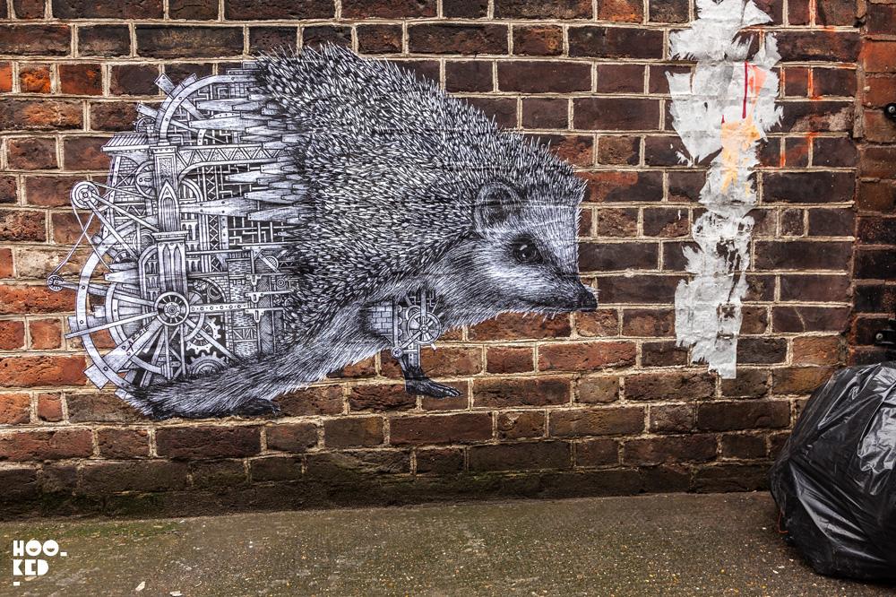 French street artist Ardif - Princelet Street