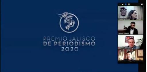 Entregan Premio Jalisco de Periodismo 2020