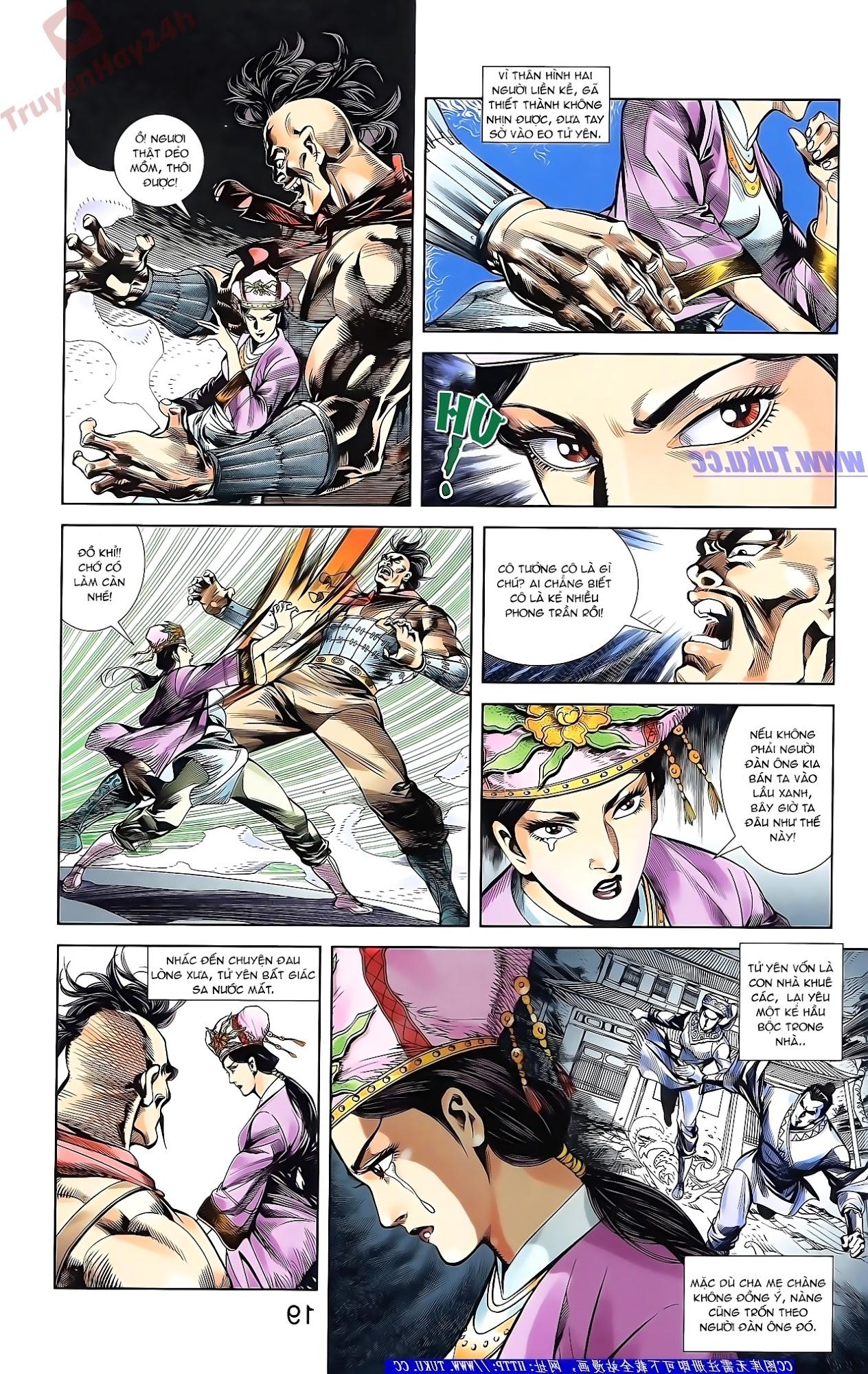 Tần Vương Doanh Chính chapter 50 trang 19