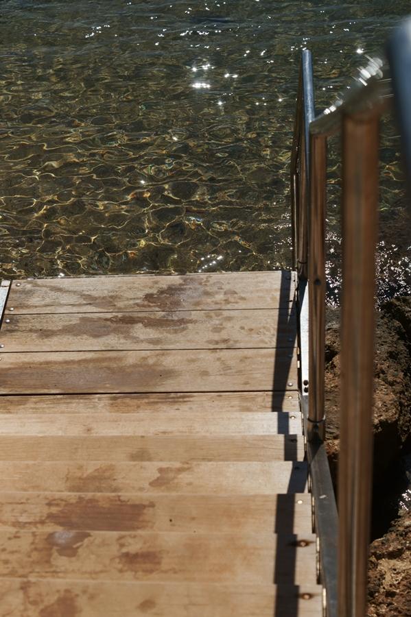 Blog + Fotografie by it's me! - Reisen - La Isla Blanca Ibiza, Santa Eularia - Zugang zum Meer