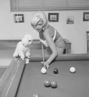 Jayne Mansfield With Her Poodle