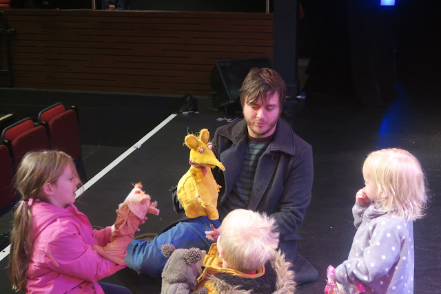 Rob having a go, Puppet Panto
