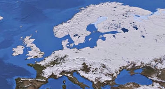 Αποτέλεσμα εικόνας για παγετώνες ευρώπη