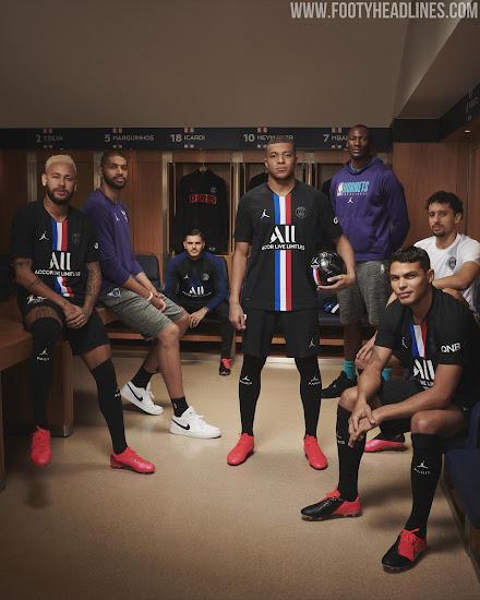 Jordan PSG 19-20 Fourth Kit Released - Footy Headlines
