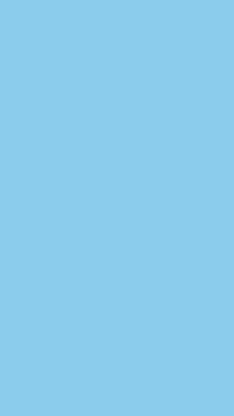 Sky Blue Wallpaper For IPhone Solid Color