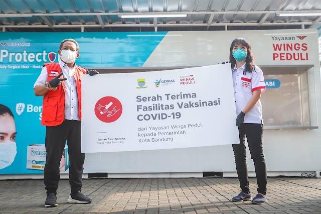 Percepat Herd Immunity, Pemkot Bandung Dan Yayasan Wings Kolaborasi Hadirkan Fasilitas Vaksinasi