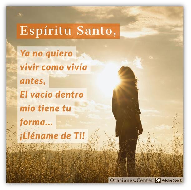 Espíritu Santo Lléname de Ti