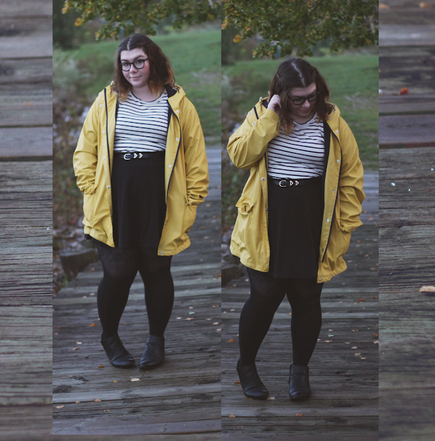 Rain Play, fall rainy day outfit on katielikeme.com