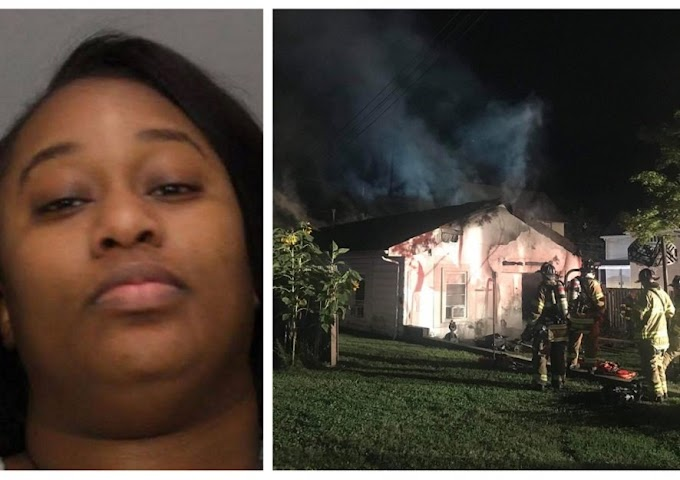 Angry New Jersey side-chick burns house of sleeping lover for not picking calls after arranging for sex