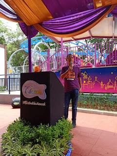 Pak Rika vice presdir Ancol di Wahana baru di Ocean Dream Samudera