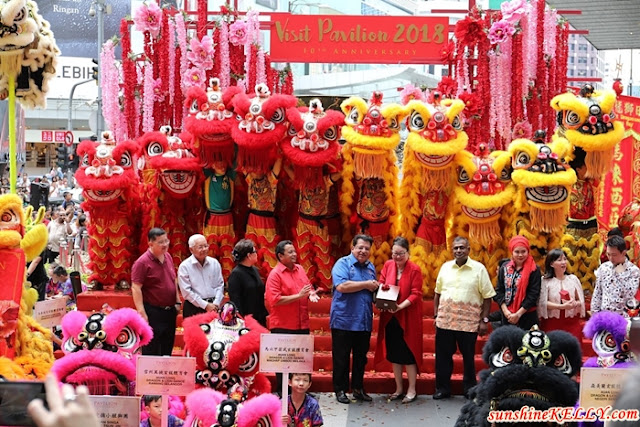 World Dragon & Lion Dance Extravaganza, Visit Pavilion 2018