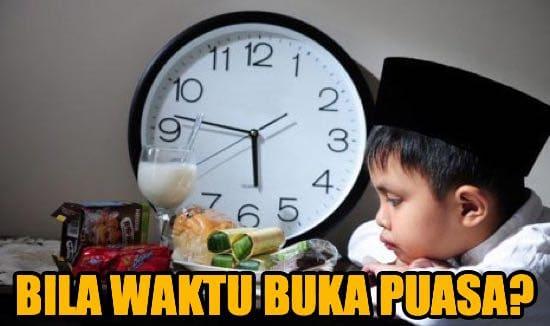 Jadual Waktu Buka Puasa Ramadhan Dan Imsak 2020 Seluruh Negeri Di Malaysia