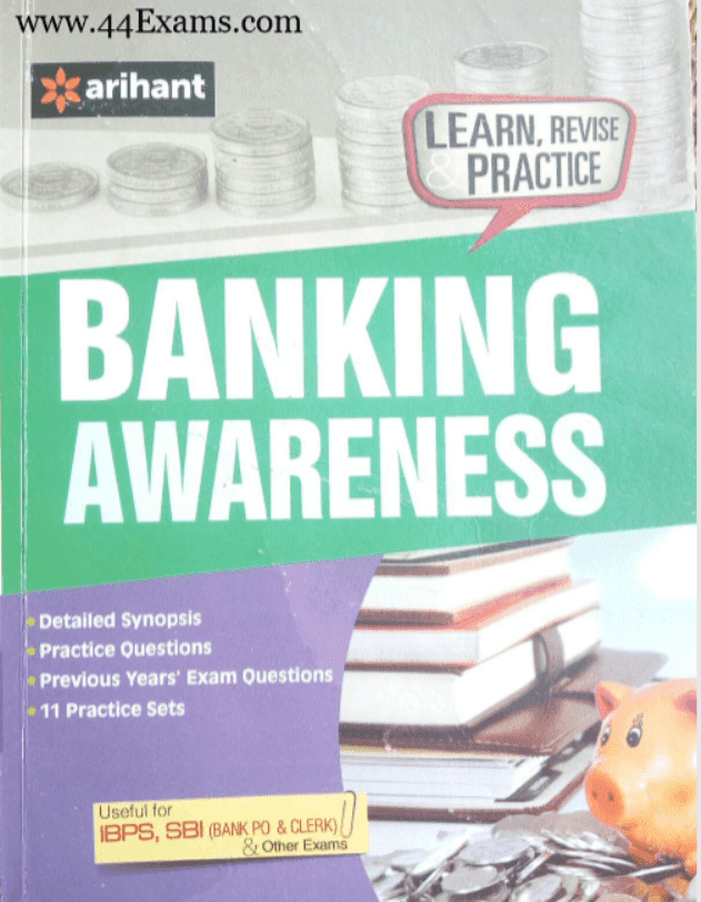 Arihant-Banking-Awareness-For-Banking-Exam-PDF-Book