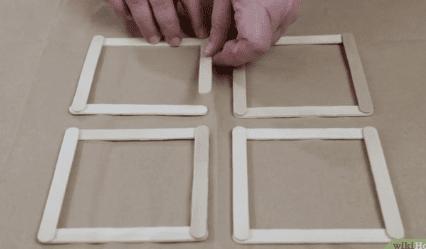 Cara Membuat Rumah Dari Stik Es Krim Lengkap Dengan Gambar