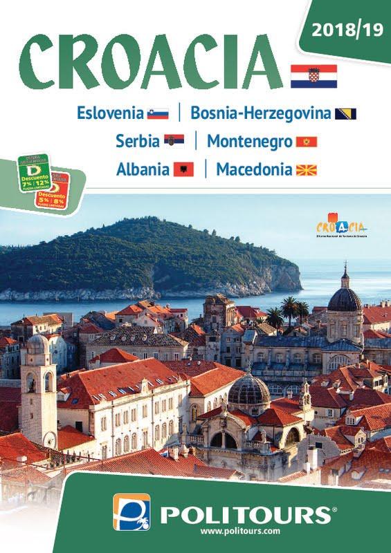 Catálogo Politours Circuitos Croacia 2018-19