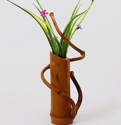 Tutorial Vas Bunga Cantik Dari Bambu