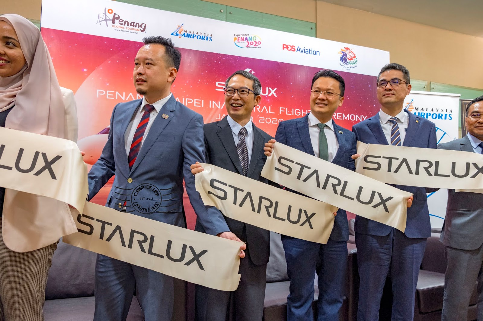 Penang - Taipei Direct Flight via New Luxury Boutique Airlines STARLUX