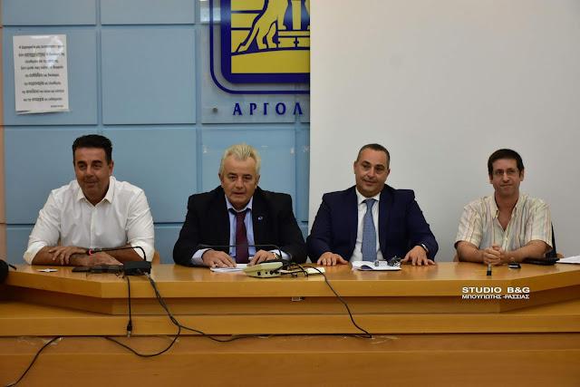 Πρόεδρος του νέου Δημοτικού Συμβουλίου στο Ναύπλιο ο Σταύρος Αυγουστόπουλος