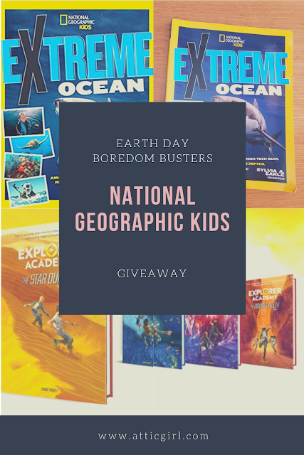 National Geographic Kids giveaway, boredom busters, kids books giveaway, National Geographic Kids books