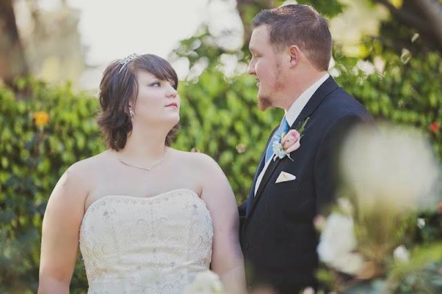 Samantha and Randy's Blue Sky Suite Disneyland Escape Wedding