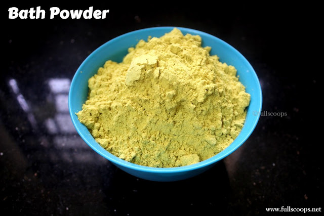 Bath powder for little girls