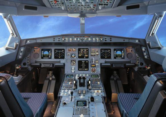 Airbus ACJ320neo cockpit