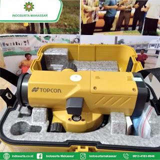 Jual Automatic Level Topcon ATB4A Baru di Makassar