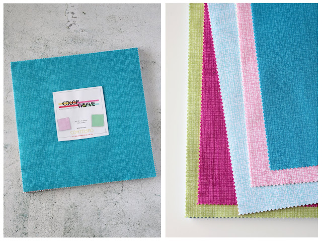 Color Weave fabrics by Benartex Contempo - found on A Bright Corner