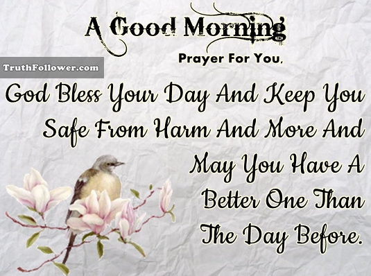 Good Morning Prayer For You : Good morning prayer for you