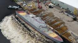 Lockheed Martin hạ thủy Chiến Hạm mới nhất của Hải quân Hoa Kỳ