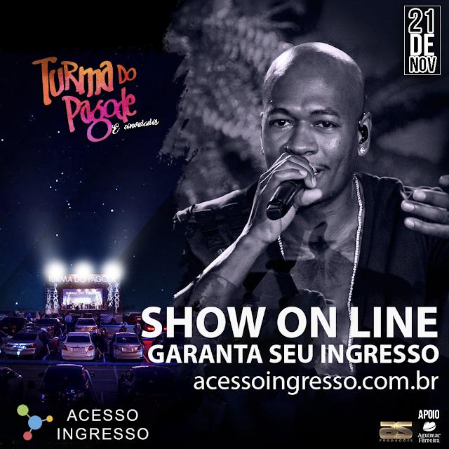 Startup inédita brasileira do mercado de entretenimento transmite show ao vivo para todo o Brasil da banda Turma do Pagode