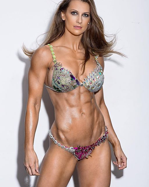 Fitness Athlete Model JOHANNA HESS