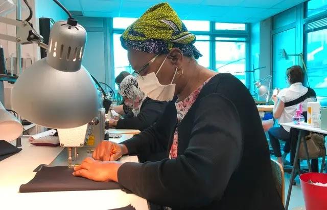 Covid-19 - Nantes : 15.000 masques en un mois pour les plus précaires… Les couturières en passe de réussir leur pari