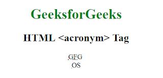 penggunaan tag acronym untuk membuat akronim pada laman html