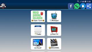 Apk Türkiye ile Harika Spor ve Ulusal kanalları Film Dizi kanalalar izle