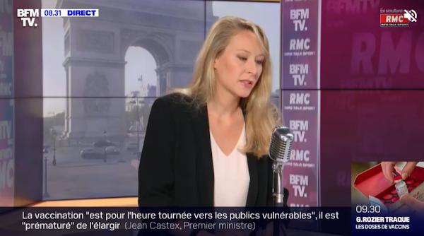"""TRIBUNE DE MILITAIRES: POUR MARION MARÉCHAL, IL NE S'AGIT PAS D'UN """"APPEL À L'INSURRECTION"""""""