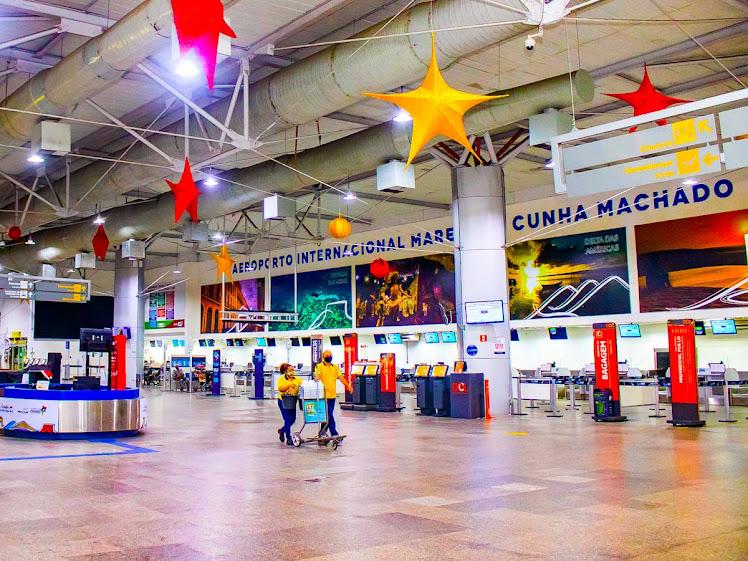 Pelo 2º mês seguido, Aeroporto de São Luís tem alta no movimento de passageiros