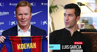 Luis Garcia believes Koeman is doing a fantastic job, need should be given time